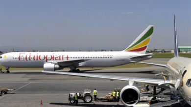 Photo of Ethiopian Airlines Boeing 737 crashes on way to Kenya
