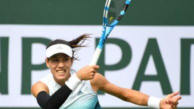 Photo of Paribas Open: Garbine Muguruza advances to next round as Serena Williams retires