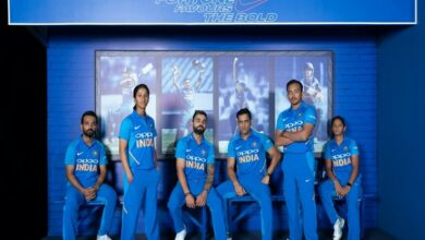 Photo of India unveils new jersey for World Cup 2019
