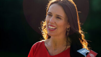 Photo of New Zealand's PM: Great example of leadership