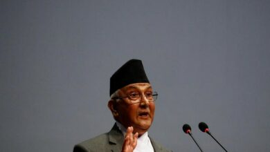 Photo of Nepal PM Oli admitted to hospital for regular heart check-up