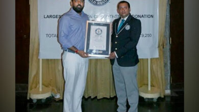 Photo of Lakshyaraj Singh Mewar Bags Guinness Book of World Record