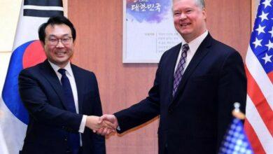 Photo of S Korean nuclear envoy en route to Washington to discuss issues pertaining to N Korea