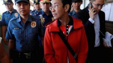 Photo of High-profile Philippine journalist Maria Ressa arrested at Manila airport