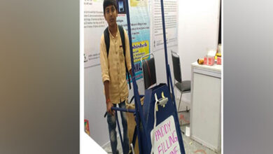 Photo of Telangana: 13-year-old invents paddy filling machine