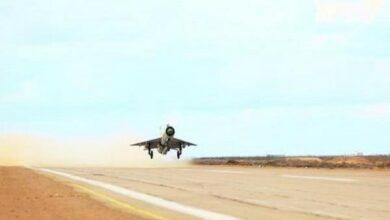 Photo of IAF MiG-21 crashes near Bikaner, pilot ejects safely