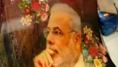 Photo of 'Modi sarees' a big hit this election season
