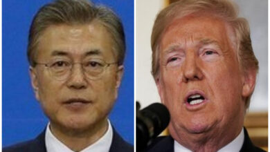 Photo of South Korean official leaves for US ahead of Trump-Moon summit