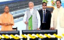 PM Modi inaugurates Metro's Blue Line extension in Noida