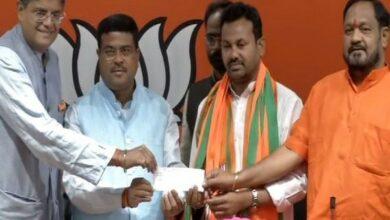Photo of Odisha Congress MLA Prakash Chandra Behara joins BJP