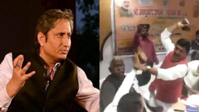 Photo of Prime Time with Ravish: Journalist expresses concern after BJP MP, MLA thrash each other