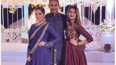 Photo of Instagram posts of Azharuddin's son, Sania Mirza's sister trigger marriage rumours