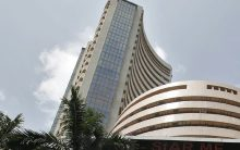 Equity indices open in green, Sensex up 100 points