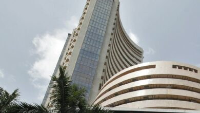 Photo of Equity indices open in red, Sensex down 139 points