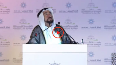 Photo of Sharjah Ruler discloses his 'daily prayer', video goes viral after thunder marks end of his speech