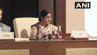 Photo of 'None of Allah's 99 names means violence': Sushma Swaraj at OIC conclave