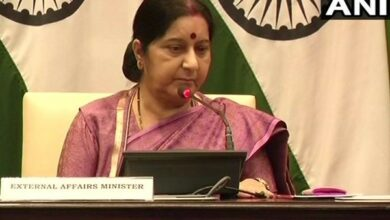 Photo of Here's what Sushma says on the reports of her appointment as Andhra Governor