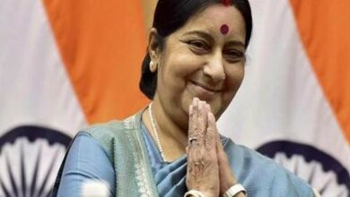 Photo of Sushma Swaraj to visit Maldives tomorrow to hold delegation-level meetings