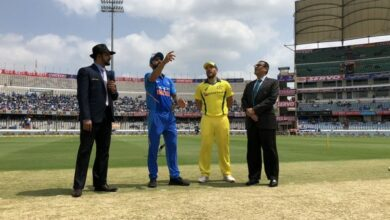 Photo of Hyderabad ODI: India to bowl first against Aussies
