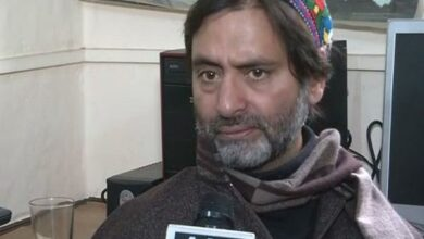 Photo of Yasin Malik sent to judicial custody till May 24