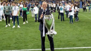 Photo of Zinedine Zidane reappointed as coach of Real Madrid