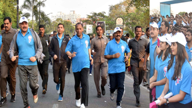 Photo of Hyderabad Police She team Run 2019
