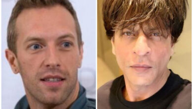 Photo of Chris Martin gives shout out to SRK