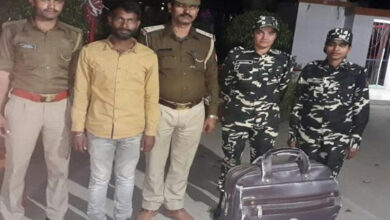Photo of Uttar Pradesh: Man detained for smuggling Rs 3.2 lakh