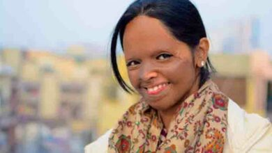 Photo of People finding beauty in an acid-burnt face: Laxmi