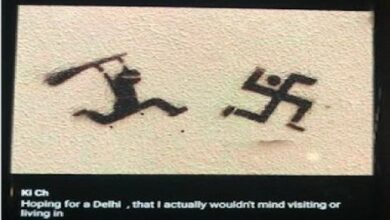 Photo of Arvind Kejriwal's tweet was to attack Hitler, not to hurt Hindu sentiments