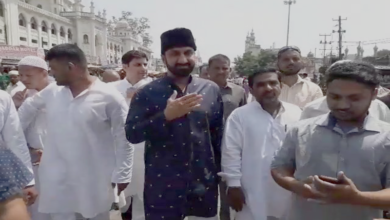 Photo of Feroz Khan challenges Asad Owaisi to open debate on development of old city