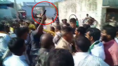 Photo of TDP candidate injured as cop opens fire to save him