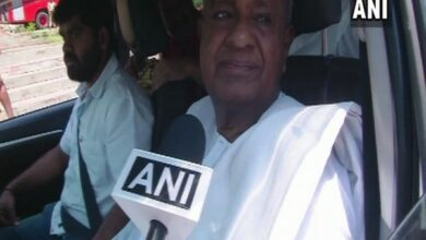Photo of JD(S) will contest on 8 seats, Congress on 20: Deve Gowda
