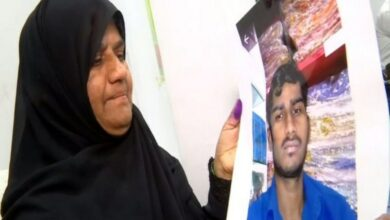 Photo of Hyderabad woman urges Swaraj to rescue her son stranded in Bangladesh