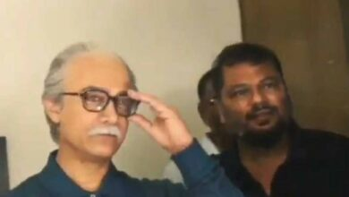 Photo of Aamir Khan transforming into an old man in a video is trending