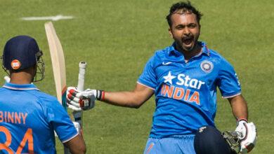Photo of Management clear on me batting at number six, says Kedhar Jadhav