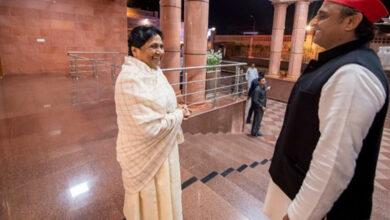 Photo of Mayawati, Akhilesh hold meeting in Lucknow