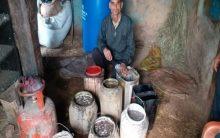 519 litre 'desi' liquor seized in Rajouri