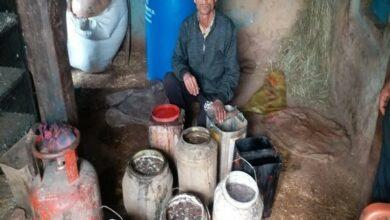 Photo of 519 litre 'desi' liquor seized in Rajouri