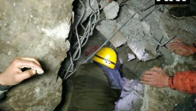 Photo of Couple trapped following a Landslide in Kullu, rescued