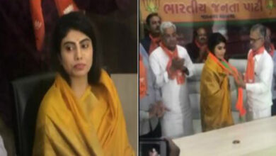 Photo of Indian cricketer's wife joins BJP