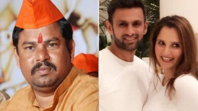 Photo of BJP MLA Raja Singh targets Sania Mirza, warns Shoaib Malik