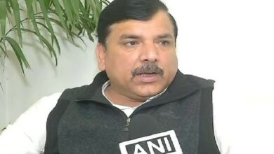 Photo of Delhi Police at the behest of BJP is harassing AAP leaders: Sanjay Singh tells EC