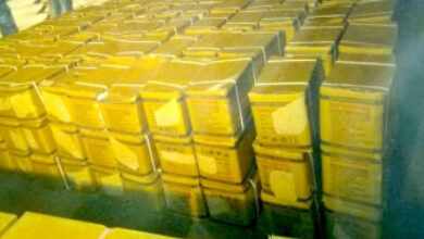 Photo of Explosives-laden truck seized in Bengal