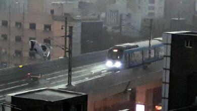 Photo of Hyderabad Metro rail halted for 15 Minutes