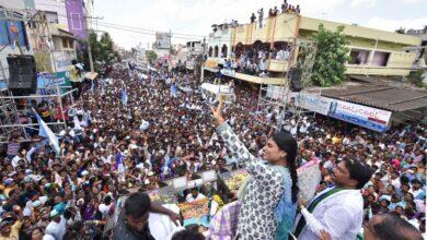 Photo of YSR Congress Party Election Public Meeting at Singanamala Ananthapur Dist