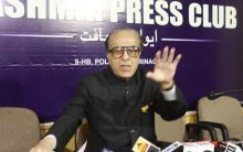 Saifuddin Soz condemns BJP election manifesto