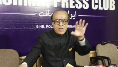 Photo of Saifuddin Soz condemns BJP election manifesto