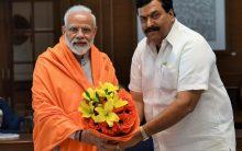 Congress senior leader Ponguleti Sudhakar Reddy joins Bharatiya Janata Party