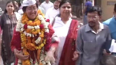 Photo of Muslim dominated Jamia Nagar witnessed sea of supporters for AAP's Atishi